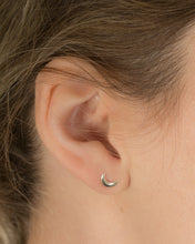 asymmetric moon and star earrings