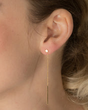 Star and Thread Double Earring