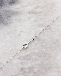 Arrow bracelet in sterling silver