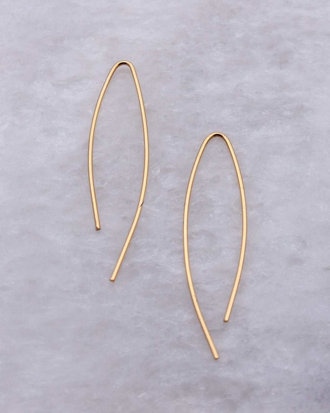 Ellipse Ear Wires