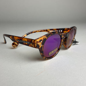 Independent Barrier Mirror Sunglasses Brown