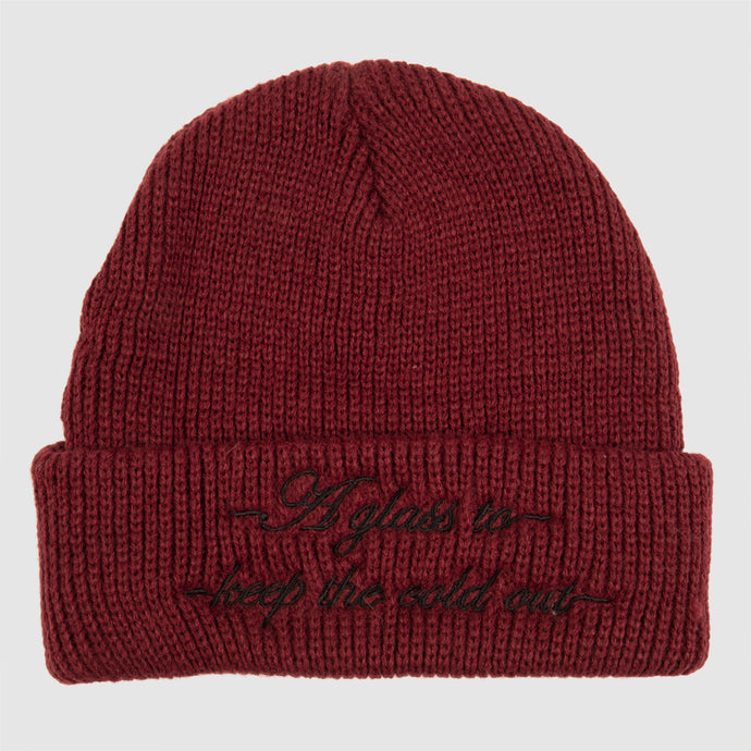 Pass Port Cold Out Beanie Burgundy