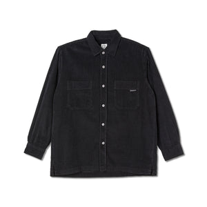 Polar Cord Shirt Black