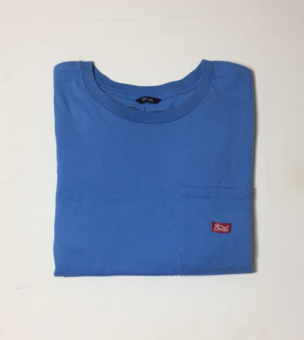 Brixton Sith Pocket Tee Blue