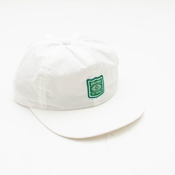 Brixton MP Cap- White
