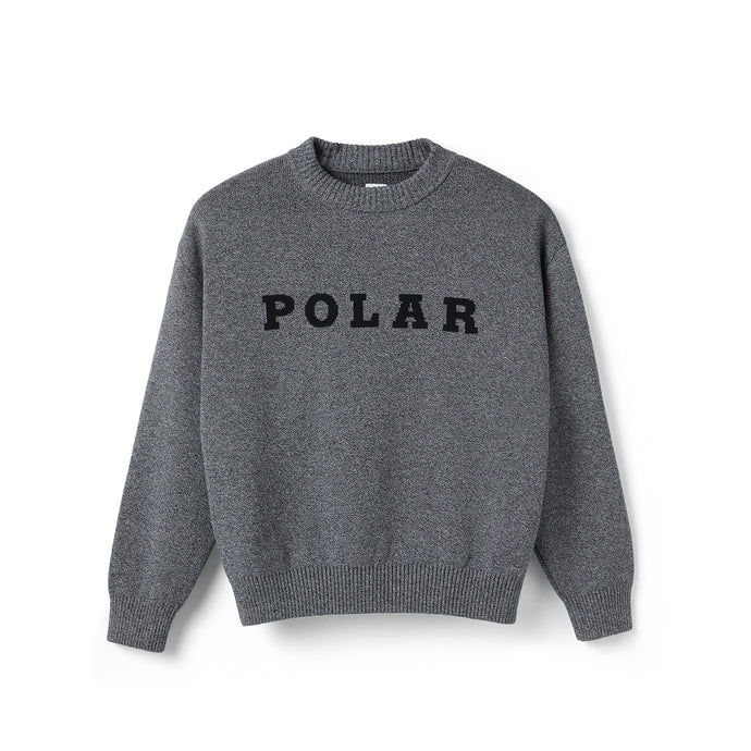Polar Knitted Sweater Black