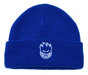 Spitfire Big Head Cuff Beanie Blue/White