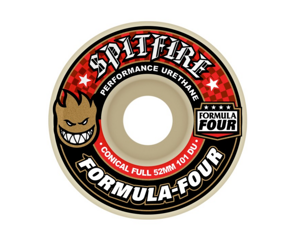 Spitfire Conical Full 101du 52mm Wheels