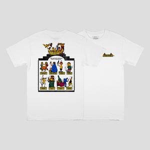 Pass Port Trickle Down Tee White