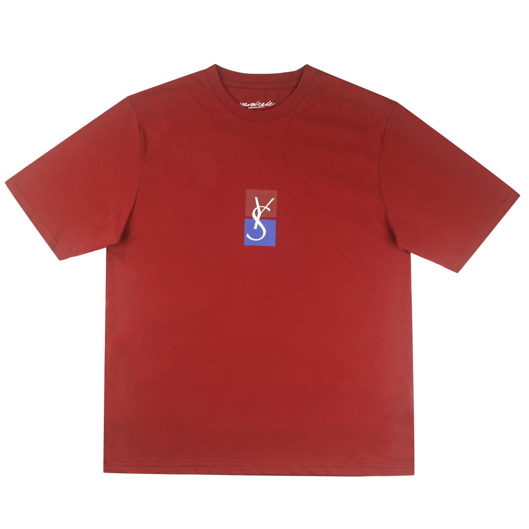 Yardsale YS Split Tee Red