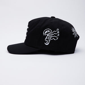 Obey Open Mind Snapback Black/White