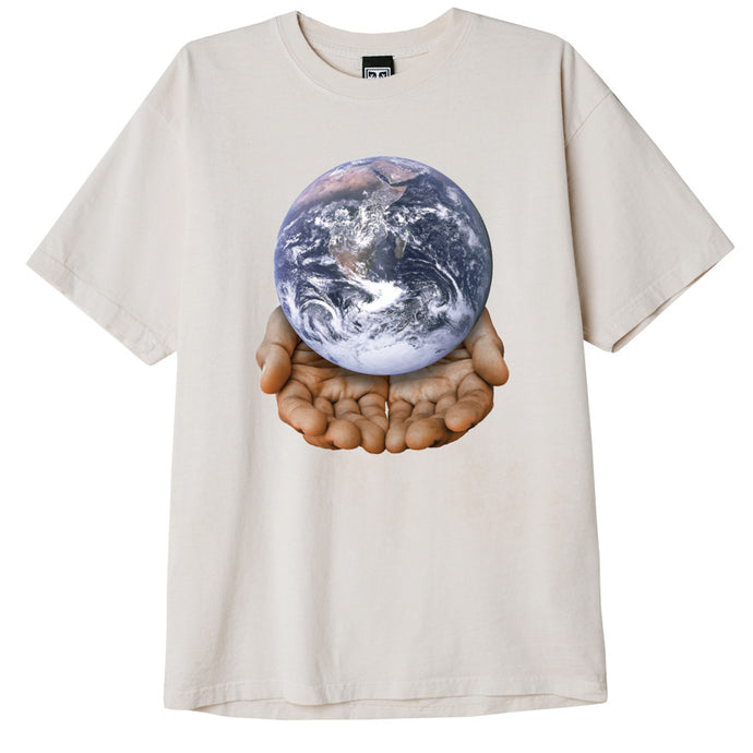 Obey Our Planet Is In Your Hands Tee White