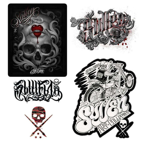 steelwave:Sullen Stickers Pack Printemps 2014
