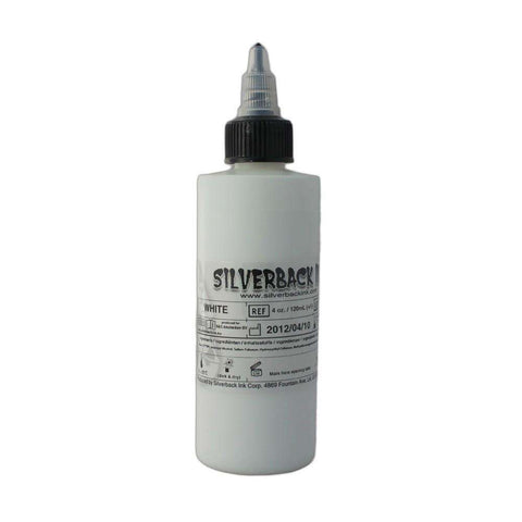 steelwave:Silverback Ink - White - 125 ml