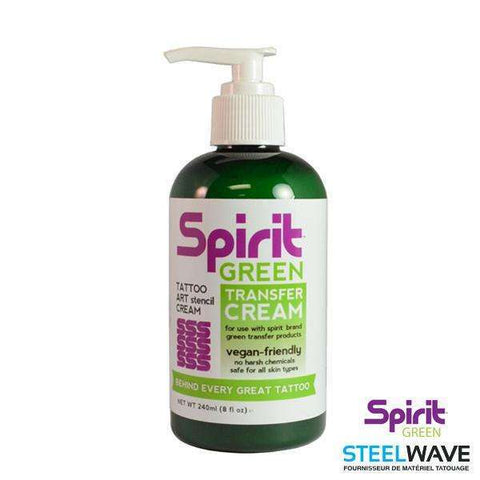 steelwave:Spirit Creme Green Transfert - 240ml