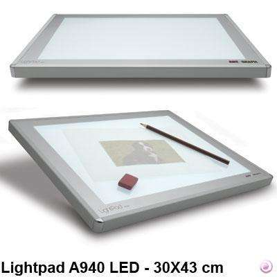 steelwave:Lightpad a940 - A3 Tablette lumineuse a LED 30x43 cm