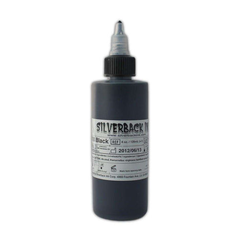 steelwave:Silverback Ink - Black - XXX serie - 125 ml