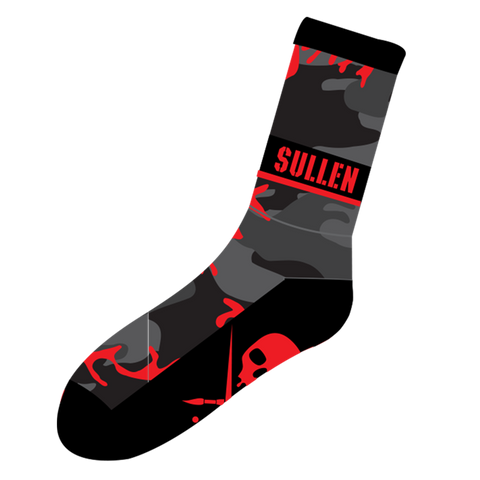 steelwave:Hunted socks Red Camo - chaussettes Sullen