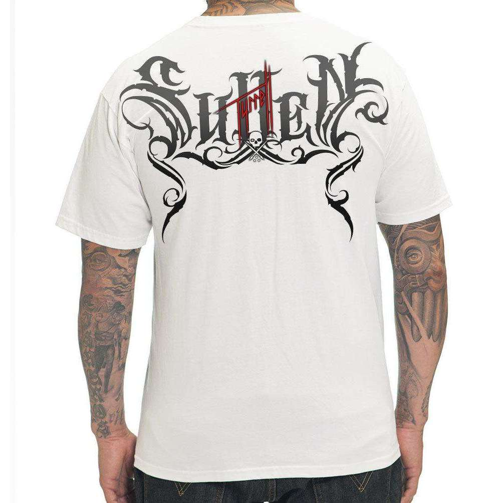 steelwave:Bob Tyrell Reaper Tee-shirt Homme Sullen Blanc,Blanc / L