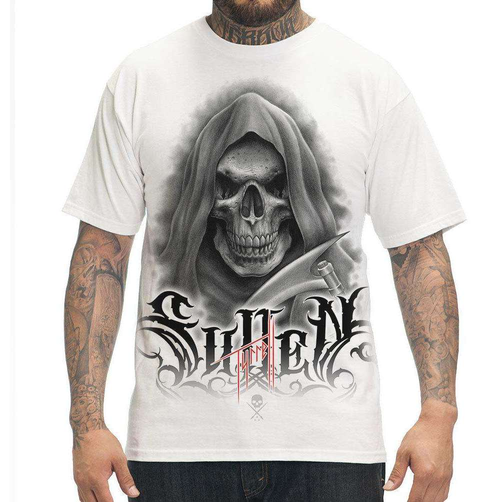 steelwave:Bob Tyrell Reaper Tee-shirt Homme Sullen Blanc,Blanc / S
