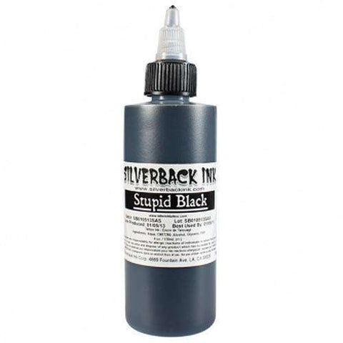 steelwave:Silverback Ink - Stupid black - 125 ml
