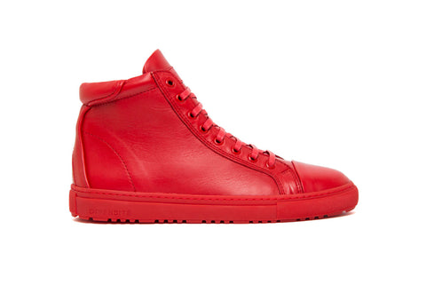 Bridge Red High Top