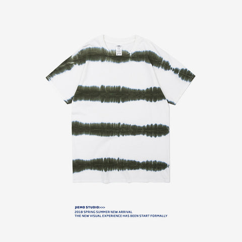 INF Hand Tie Dye Striped Tee