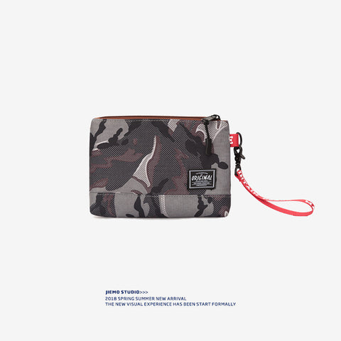 Camo Card Holder Wallet