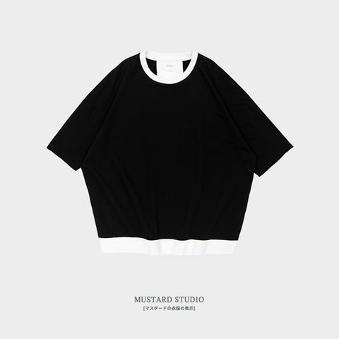 Loose Fit Back Panel Tee