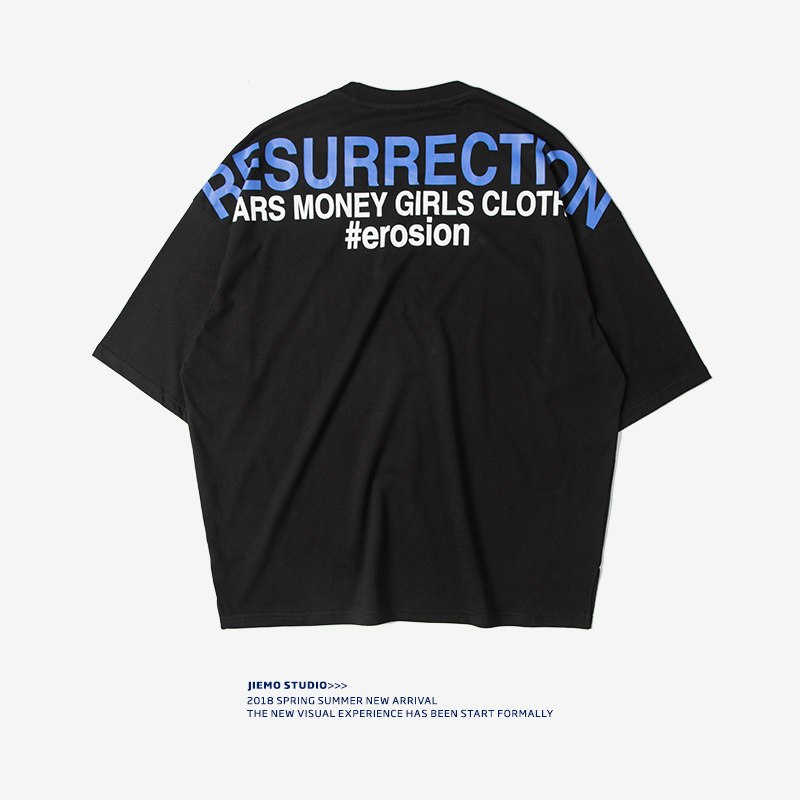 """Resurrection"" Graphic Loose Fit Tee"