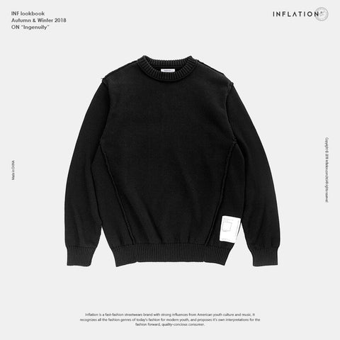 Knitted Super Soft Basic Pullover