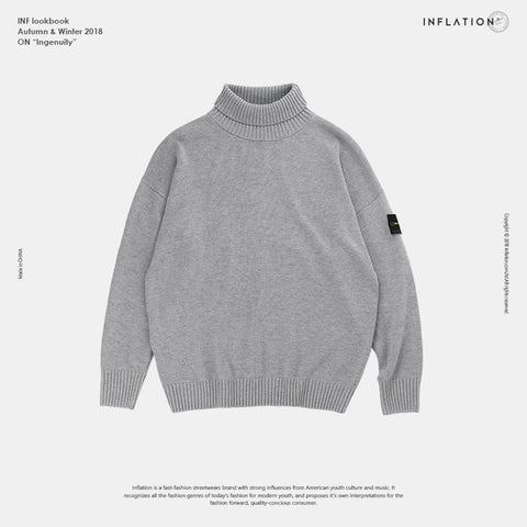Knitted Soft Pullover with Tag Detail