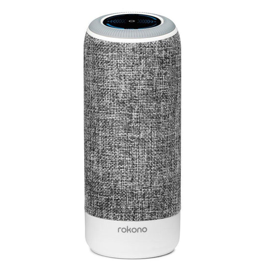 Rokono Accents Portable Bluetooth Speaker - Grey