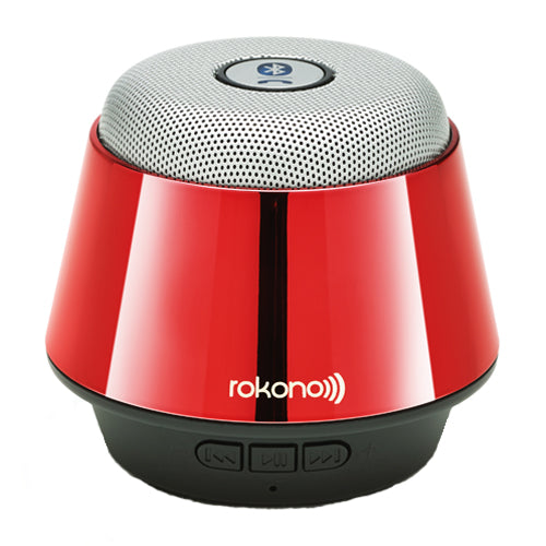 Rokono B10 Mini Bluetooth Speaker - Red