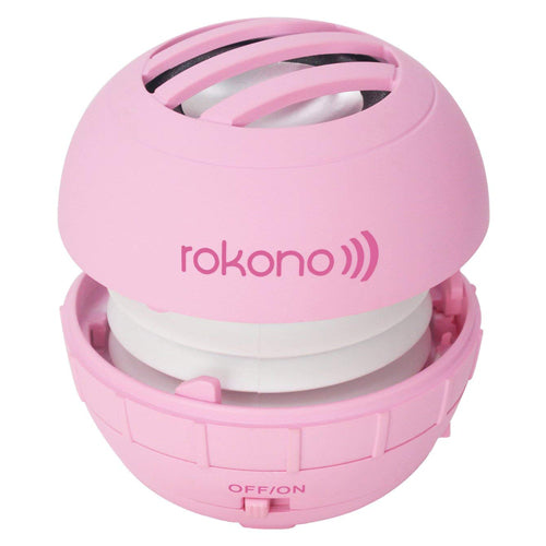 Rokono BASS+ Mini Line-in Speaker - Pink