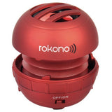 Rokono BASS+ Mini Line-in Speaker - Red