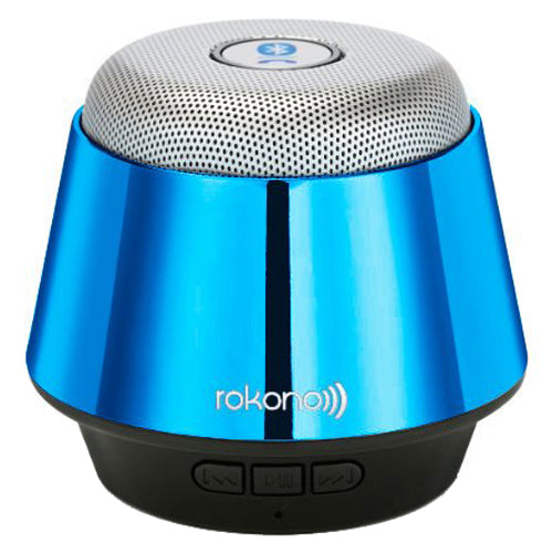 Rokono B10 Mini Bluetooth Speaker - Blue