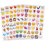 4 x 48 Emoji Sticker Sheet