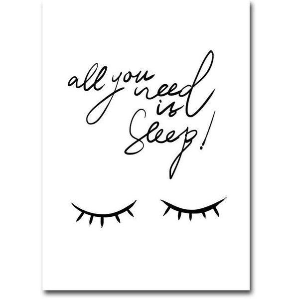 All You Need is Sleep | Poster - Deskspo