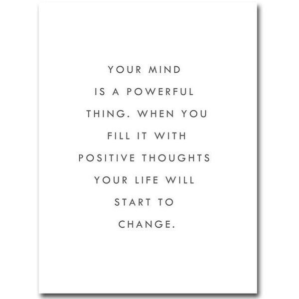 Your Mind is Powerful Thing Poster | Poster - Deskspo