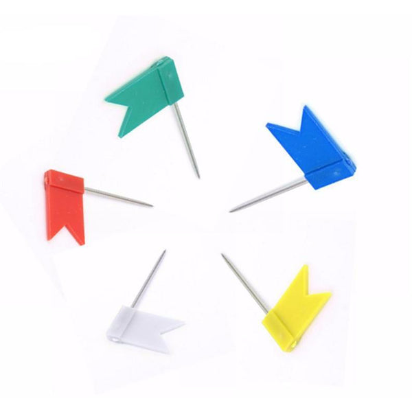 Flag Push Pins | Pins - Deskspo