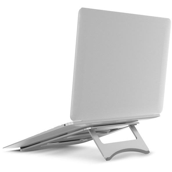 Foldable Aluminum Macbook Stand | Laptop Stand - Deskspo