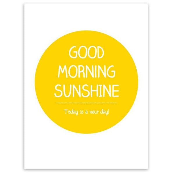 Good Morning Sunshine Poster | Poster - Deskspo
