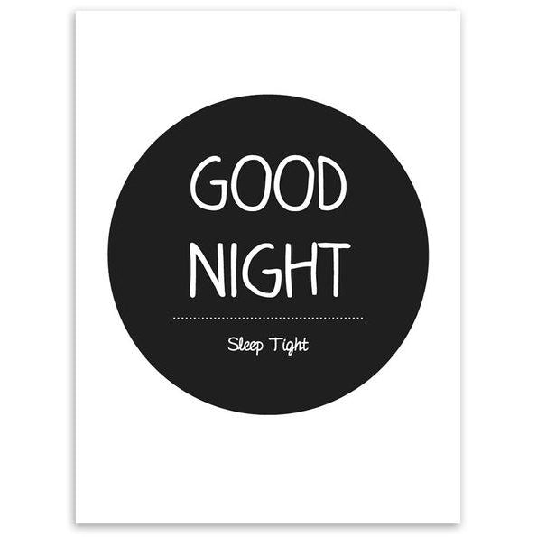 Good Night Relaxation Canvas Print | Poster - Deskspo