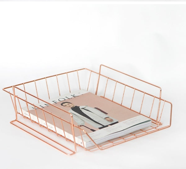 Rose Gold Storage Tray