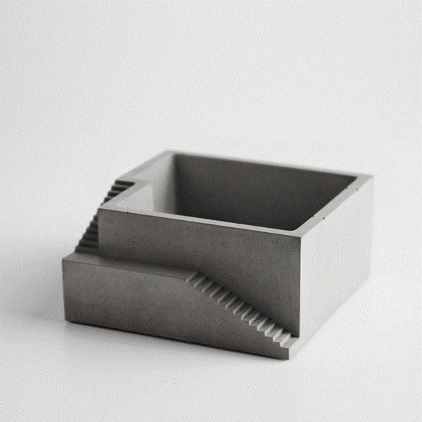 Concrete Desktop Flower Pot