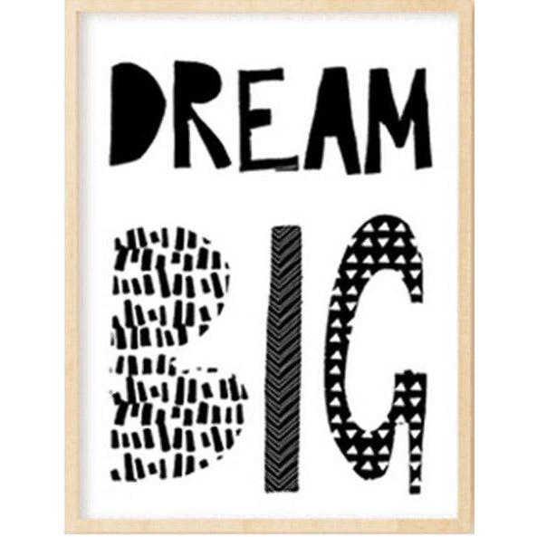 Dream Big Canvas Poster | Poster - Deskspo