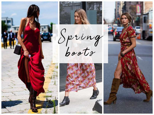 The 8 Best Ways to Pair Boots With Dresses This Spring