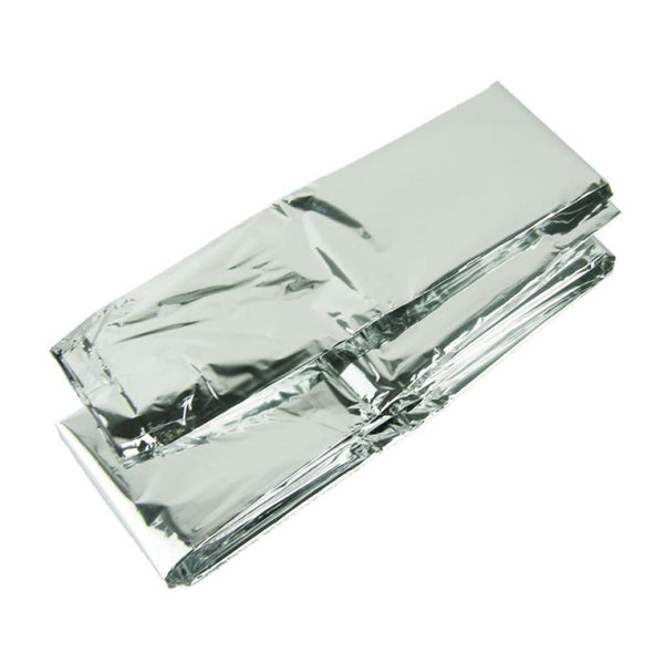 Emergency Survival Blankets- Silver Thin Emergency Blanket Survival Rescue Outdoor Life-saving