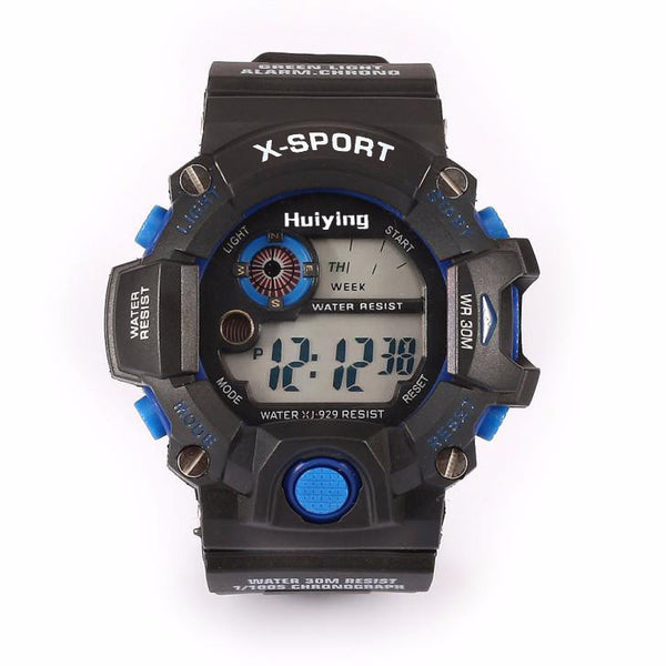 Men's Quartz Digital Sports Watches LED Military Waterproof Wristwatche